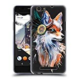 Official Pixie Cold Fox Animals Soft Gel Case Compatible