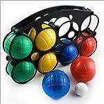 Boules Boccia Set 8 Balls Bowls with...