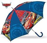 Cars 2018 Regenschirm, 55 cm, Mehrfarbig (Multicolor)