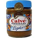 Calve Erdnussbutter light (30% weniger Fett), 350g Glas