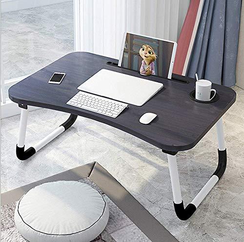 Barbieya Notebook-Tisch, Schlafsaal mit kleinem Schreibtisch, Bett mit Laptop-Tisch, Klapptisch,...