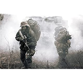 Laminated Jagdkommando Soldiers Austrian Armed Forces Special Operations Photo Art Print Sign Poster 46x30 cm inch