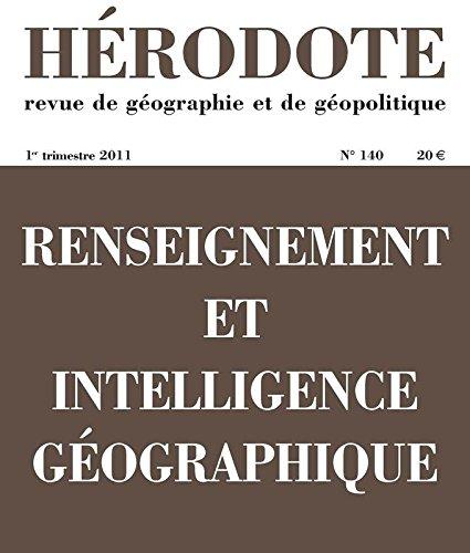 Renseignement et intelligence géographi...