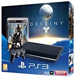 PlayStation 3 - Konsole Super Slim 500 GB (inkl. DualShock 3 Wireless Controller + Destiny)