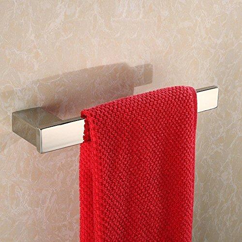 ZUNTO Spiegel Chrom Bad Handtuchring Edelstahl Handtuchstange Handtuchhalter Poliert Finish