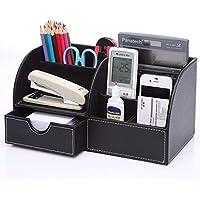 KINGFOM Multifunzionale Organizador de escritorio/Portalápices/Sistema de Escritorio/Organizador de Oficina