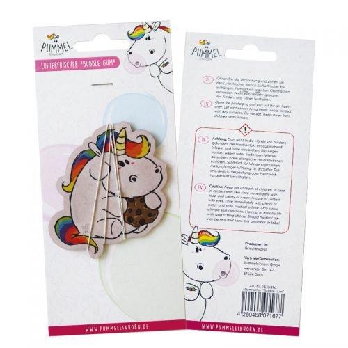 Lufterfrischer (Bubblegum) - Pummeleinhorn flauschig