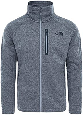 The North Face M Canyonlands Full Zip Camiseta, Hombre