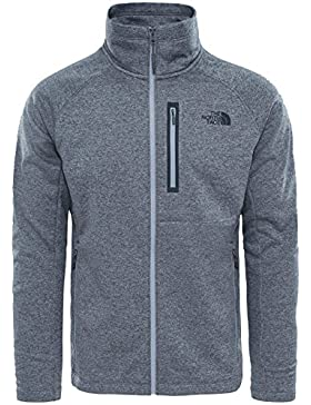The North Face North Face M CANYONLANDS FULL ZIP - Chaqueta, Hombre, Gris - (TNF MEDIUM GREY HEATHER)