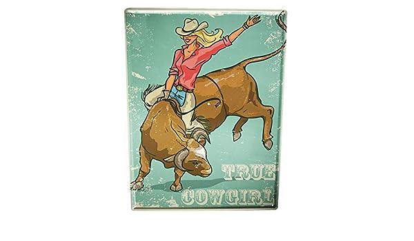 Blechschild XXL Nostalgie  Rodeo