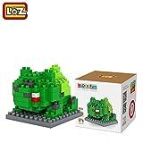 #8: Pokemon Series Diamond Building Blocks Puzzle Action Figure 3D Bricks Learning Education Toys (Bulbasaur)