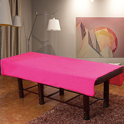 Beauty massage tagesdecke,Flanell bett bettwäsche thickened tagesdecken accessoires high-end-beauty schönheitssalon gewidmet hotel clubhaus einzigen bettdecke voller kein loch-E 100x190cm(39x75inch) (Voll Bettdecke)