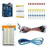 Vicoki Set/Kit für Arduino, R3 Entwicklungsboard Starter Tool Basic Kit für Arduino