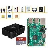 ABOX Raspberry Pi 3 Starter Kit with Pi 3 Model B Barebones...