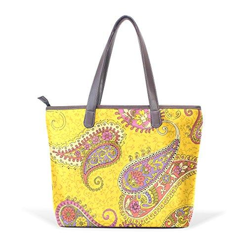 Bennigiry g927785p98c112s142, Borsa tote donna multicolore Multicolor M(40x29x9)cm
