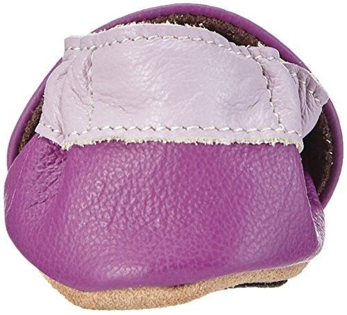 HOBEA-Germany Lauflernschuhe Luftballons, Chaussures Bébé quatre pattes (1-10 mois) mixte bébé Violet (lila)