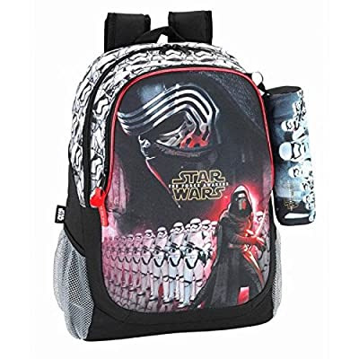 Safta 611601665 Day Pack Adaptable a Carro, Color Negro y Rojo por Safta