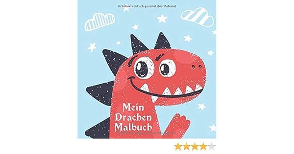 """Malbuch 35 Malvorlagen /"""" Drachen /"""" Ausmalbilder als PDF Kinder malen"""