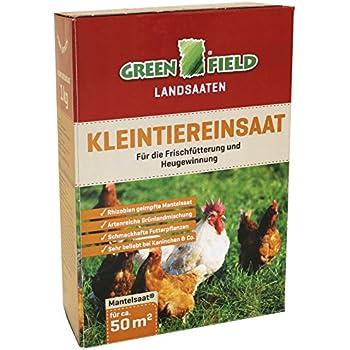 10kg Rasensaat zur Heugewinnung Classic Green Grasland Kleintiereinsaat