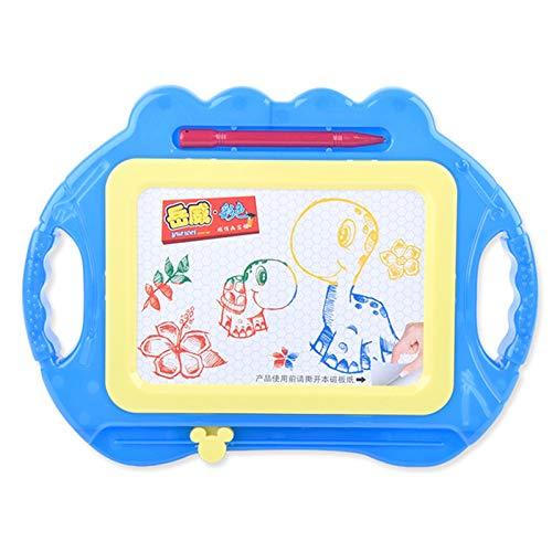 CICIN Magnetic Board und Album für Kinder, löschbares buntes Scribble Board, Kleinkinder Magna Doodles Writing Pad,Blue -