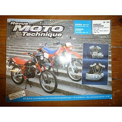 RRMT0065.2 REVUE TECHNIQUE MOTO - HARLEY-DAVIDSON MOTEUR XL1000 - XLH 883cc et 1100cc - YAMAHA 50 DTMX - HONDA MTX 50 A par ETAI