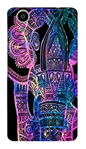 Designer Printed Back Case for Panasonic Eluga Ray
