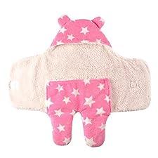 Happy Cherry Baby Schlafsack Swaddle Neugeborene Kapuze Separate Beine Pucktuch Wickeldecke Herbst Winter Mädchen Junge Kinderwagen Wrap Decke