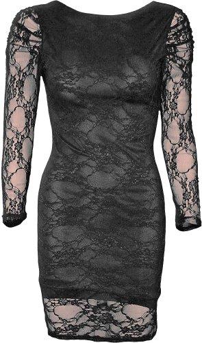 Lunga manica dell'abito rete maniche Gothic Style