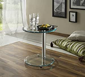 beistelltisch neu tisch couchtisch chrom kaffeetisch klein. Black Bedroom Furniture Sets. Home Design Ideas