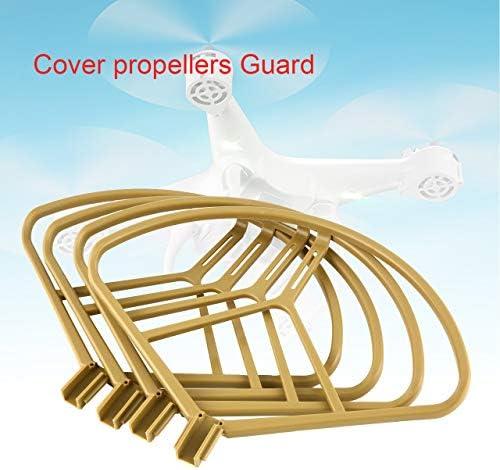 Jasnyfall 2 Paires de propulseurs hélices de Protection pour Drone DJI Mavic Pro/Platinum RC | Vente Chaude