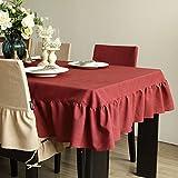 SCLOTHS Mantel de algodón clásico simple decoración de la Mesa de Comedor 140*180cm