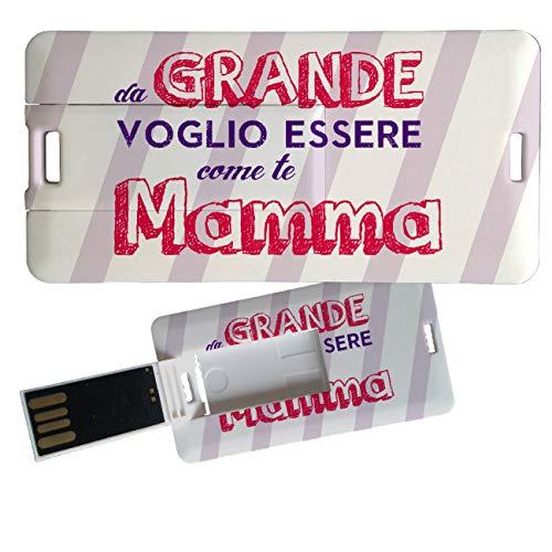 My Custom Style Pen Drive USB Kollektion 1#Muttertag 4/8/16 Gb Mini Card_8 GB FestaMamma Grande -