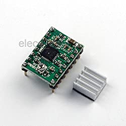 Generic 5pcs A4988 Motor Stepper Driver Module Green for 3D Printer CNC RepRap
