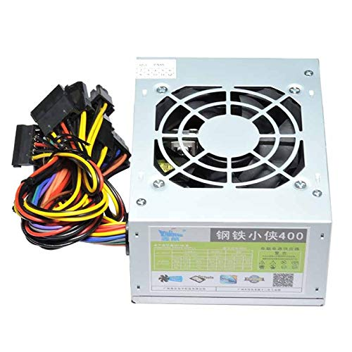DIPU WULIAN XINHANG 400W Power Supply 400W PSU One Machine Power Supply Standard Small Chassis POS Power Supply Desktop Gaming Office PSU
