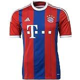 adidas Herren Spieler-Trikot FC Bayern München Replica Heim, FCB True Red/Collegiate Royal/White, M