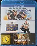 3 Blu-Ray Set Kindsköpfe + Der Kaufhaus Cop + Der Zoowärter