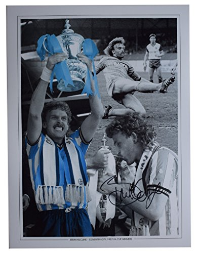 Sportagraphs Brian Kilcline SIGNED autograph 16x12 HUGE photo Coventry City Football COA PERFECT GIFT