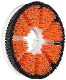 Rawlins ms1039-sg spazzola con paraspruzzi per motore scrubber