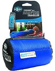 Sea To Summit Coolmax Adaptor Traveller - Sábana para saco de dormir, color azul, talla 90 x 210 cm cm