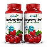 Raspberry Ketone Ultra+ 1200mg. 2 Packungen - 120 Kapseln. Enthält