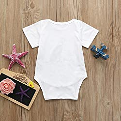 squarex Clearance! Baby Romper, Cotton Boys Girls Letter Dog Jumpsuit Clothes
