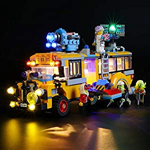 LIGHTAILING Set di Luci per (Hidden Side Autobus di Intercettazione Paranormale 3000) Modello da Costruire - Kit Luce… 0781621989454 LEGO