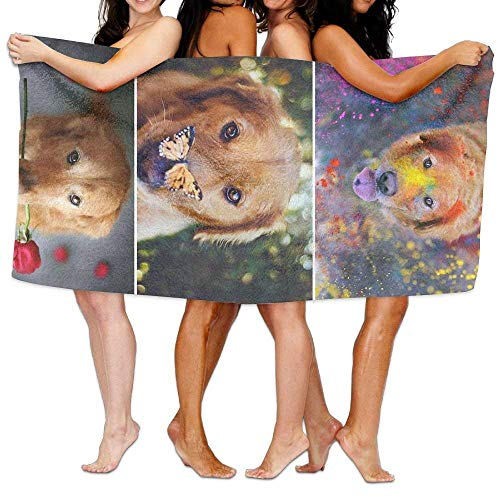 Gebrb Prämie Duschtücher/Badetücher,Strandtücher Bath Towel Doberman Pinscher Soft Big Beach Towel 31