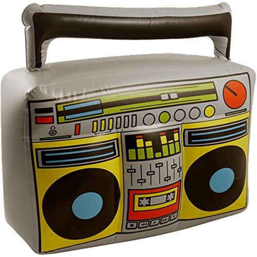 Aufblasbarer Ghetto Blaster Radio Boom Box Scherzartikel Partydekoration