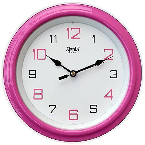 Ajanta Pink Wall Clock (Pink)