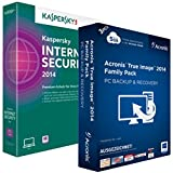 Kaspersky Internet Security 2015 3 PC / 1 Jahr + Acronis True Image 2015 3 PC CHS Limited-Edition