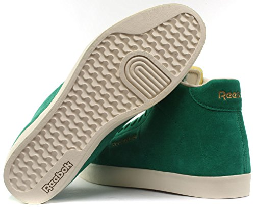 Reebok Classic NPC Mid FVS Homme Baskets / Sneakers Green/Wht/Sandtrap