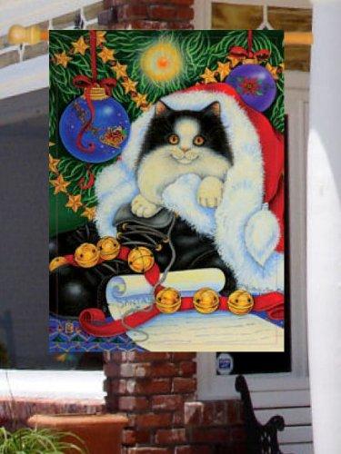Gattino campane albero di Natale Grande Bandiera - Gattino Albero