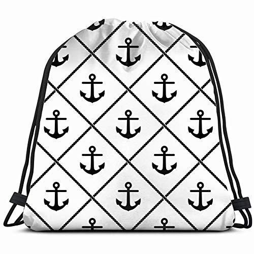Desing shop patternsigns Drawstring Bag for Women Drawstring Hiking Backpack Gym Bag for Women 17X14 Inch