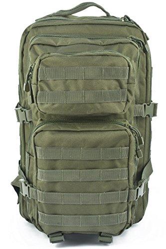 ORA-TEC US Assault Rucksack 50 Liter in verschiedenen Farben OLIV
